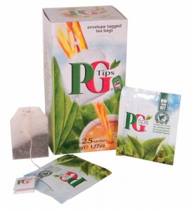 PG Tips Wrapped Tea Bags