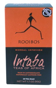 Step up to real rooibos; direct from South Africa.