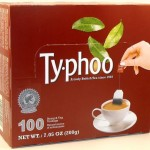 Now Try Typhoo in Box of 100 Tagged Tea Bags