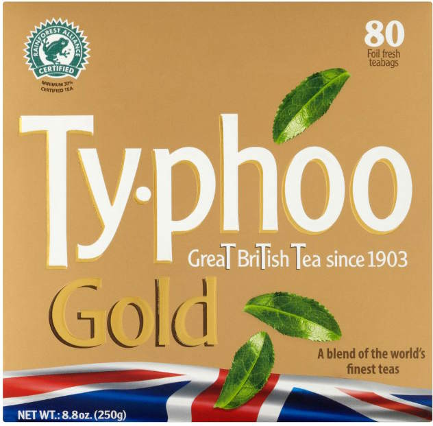 Typhoo Gold Tea